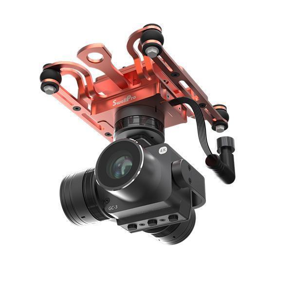 Ultimate Drone Fishing - Splashdrone 3 Axis Gimbal 4K camera