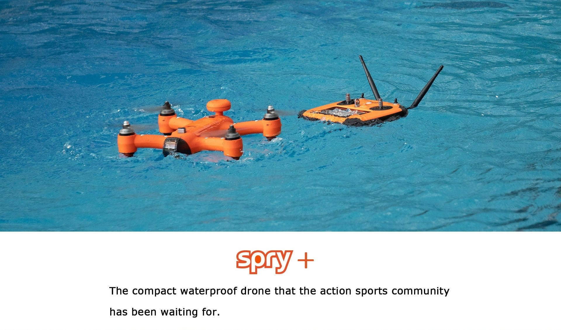 SwellPro - Spry+ Drone