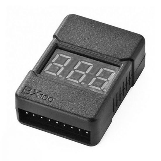 BX100 Lipo Battery Voltage Cell Monitor
