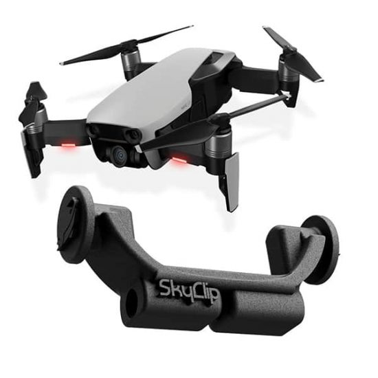 SkyClip drone fishing Bait release for DJI Mavic AIR Drones