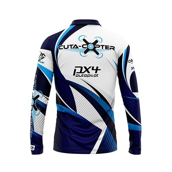Cuta Copter Sublimated Shirt back