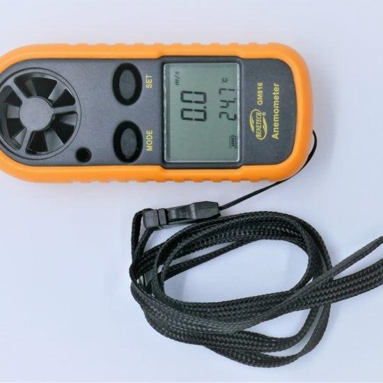Anemometer - Wind Speed velocity flow meter