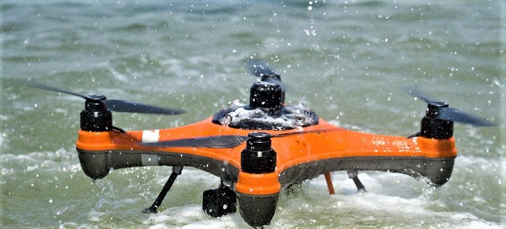 Swellpro Splashdrone 4 and SwellPro Remote Controller
