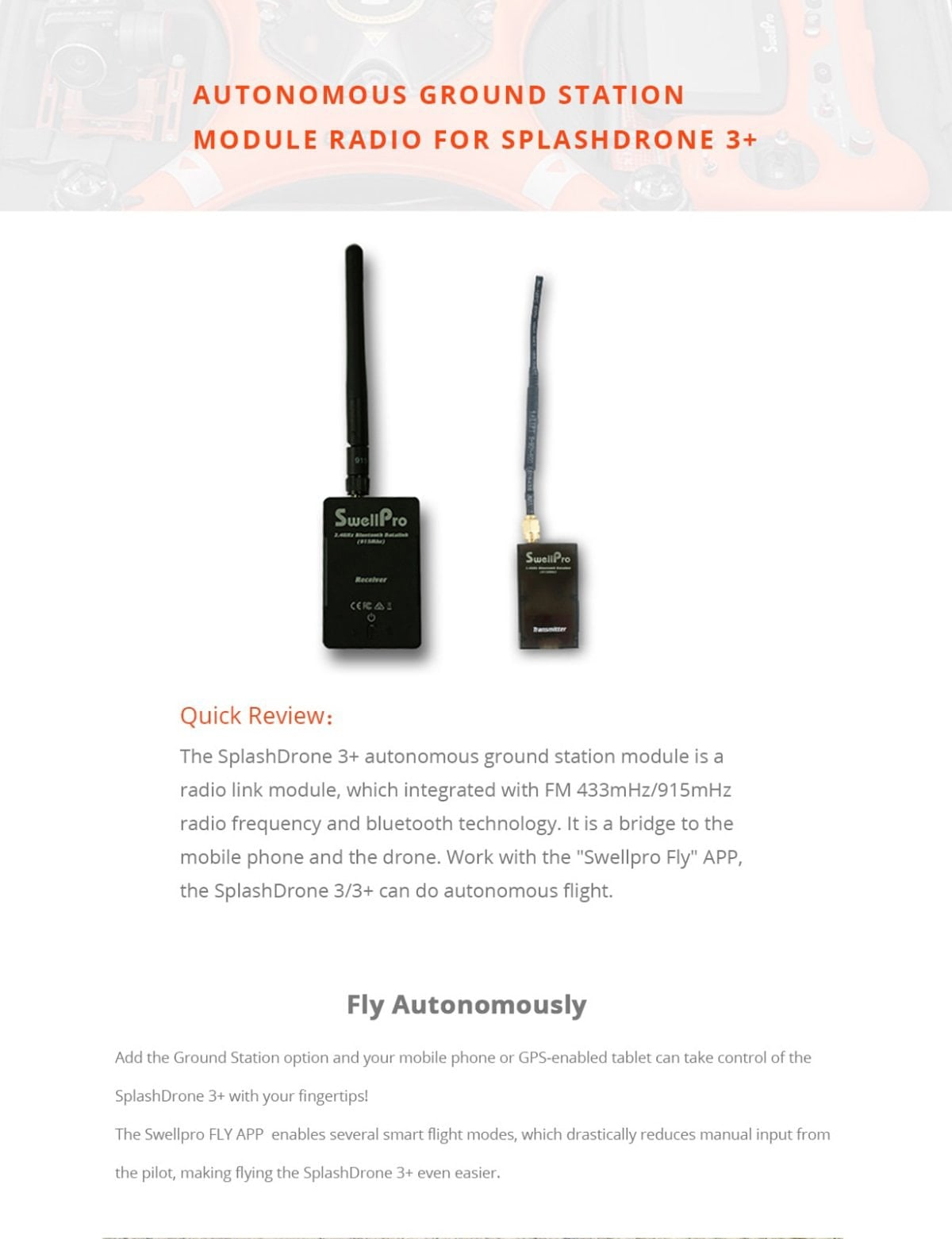Bluetooth Datalink | Autonomous Ground Station