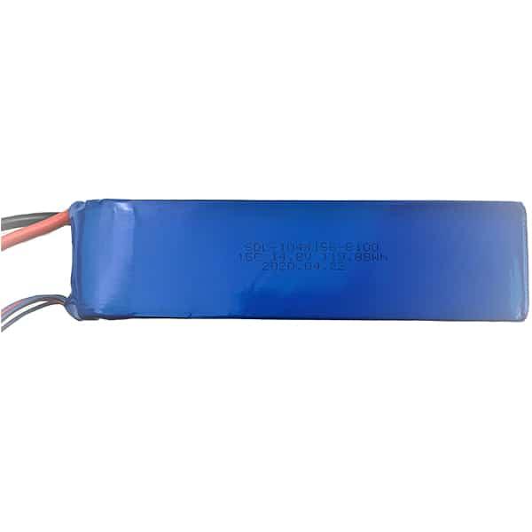 4S 8100mAh 14.8V Lipo Battery for drone fishing