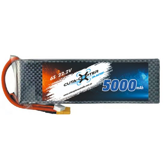 Cuta-copter 5000mAh Drone Batteries for 6S, Trident and other fishing drones
